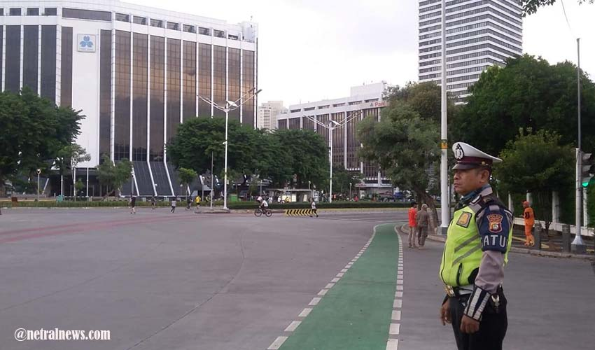 Kapolda Metro Jaya Jamin Keamanan Jakarta Selama PSBB