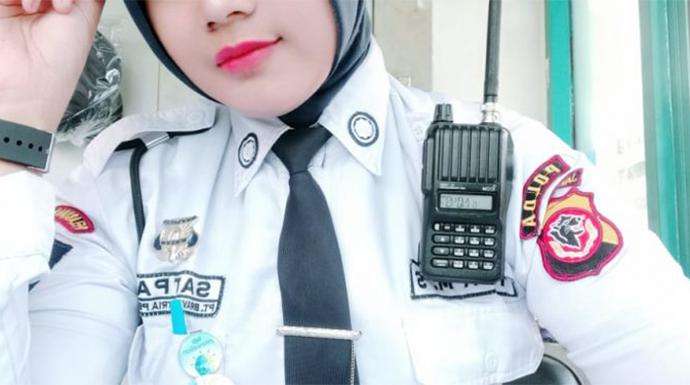 Tiara Alumni Paskibraka jadi Secwan Berprestasi di Bank Bjb