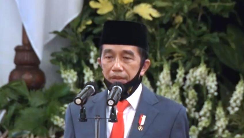 Pidato Presiden di HUT Bhayangkara ke 74
