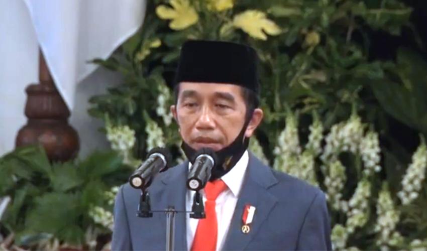 Pesan Jokowi ke Polri di HUT Bhayangkara ke-74