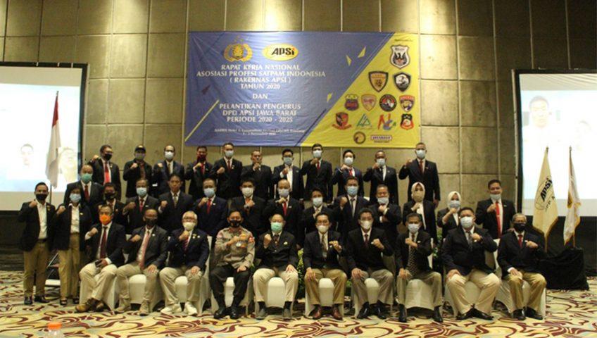 Sambutan Ketua Umum APSI dalam Rakernas Kedua di Bandung