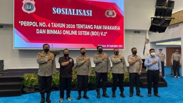 Polda Sulsel dan ABUJAPI Sosialisasi Perpol Pam Swakarsa dan BOS V2 di Makassar