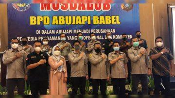 Musdalub I ABUJAPI Babel Tetapkan Zaidan sebagai Ketua